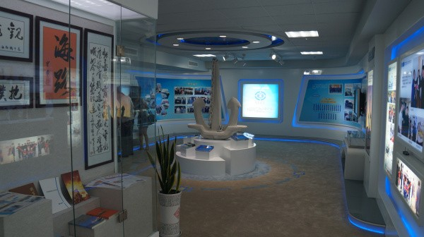 中铁渤海轮渡海路展厅